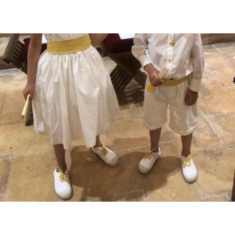 Lacets chaussures enfants
