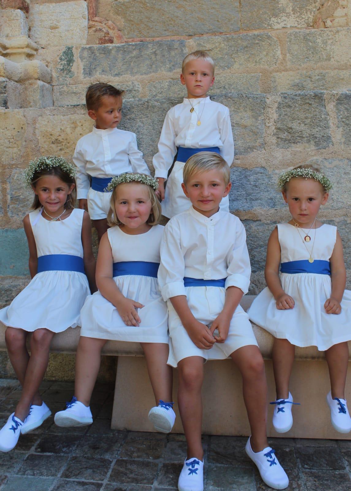 cortege enfant d'honneur Les petits choux de Bruxelles