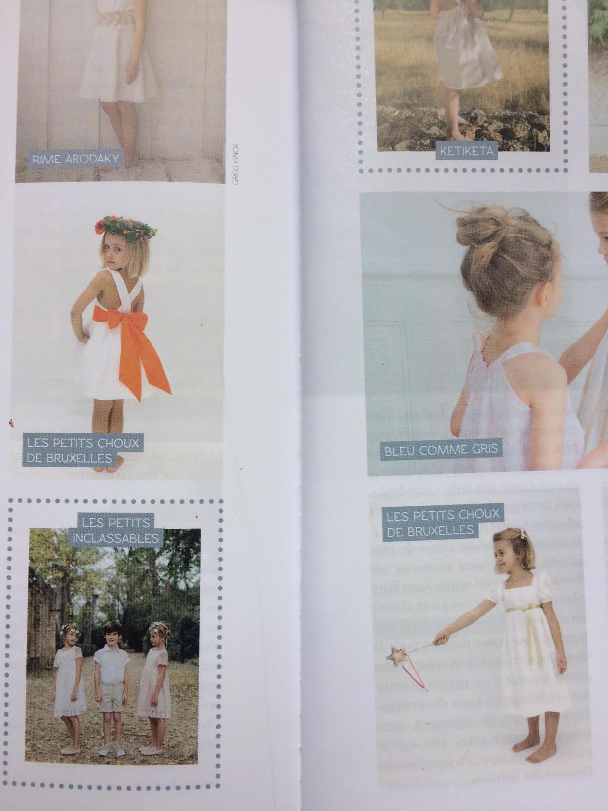 Wedding Magazine - Les petits choux