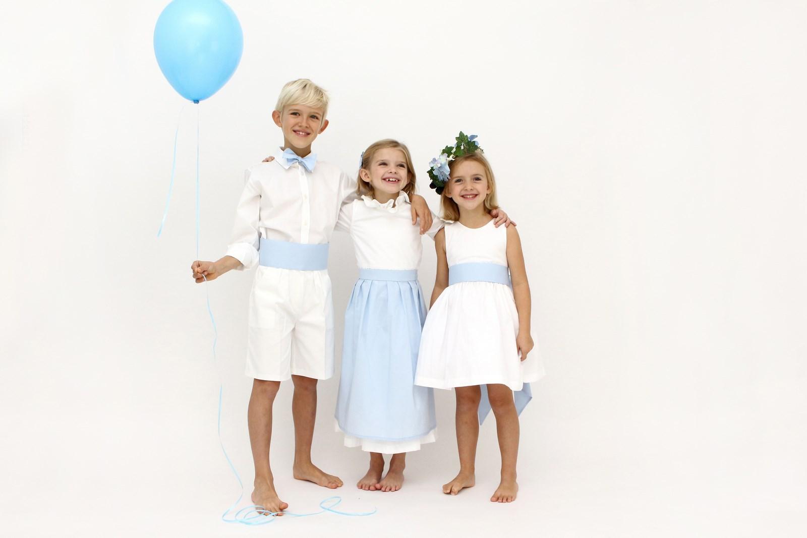 tenues d'enfants d'honneur