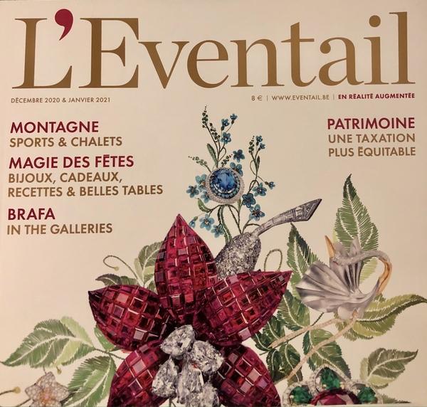 L'Eventail magazine parle des petits choux de Bruxelles
