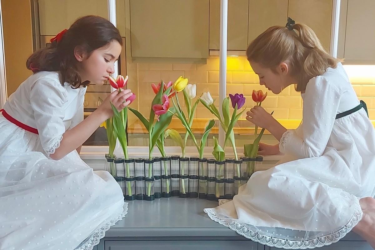 Joséphine bruidsjurk, ideaal voor bruidsmeisjes of als communiejurk